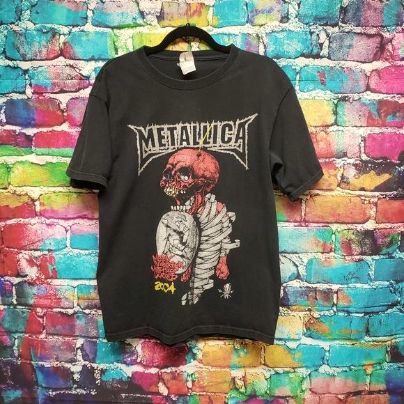 df48747a8 Fruit of the Loom Other - Vintage Black Metallica 2004 Tour Tshirt Large EUC